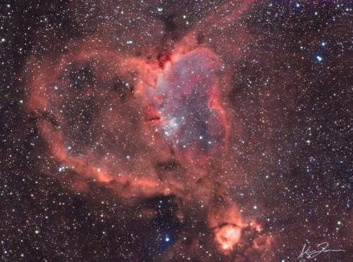 Hearth nebula Super Uv-Ir cut di Alberto Vezzani