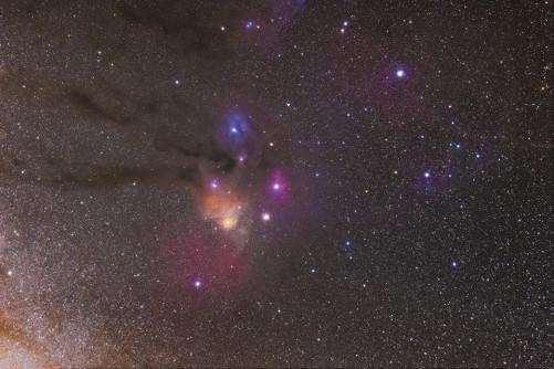 Nube di Rho Ophiuchi Nikon D5330 di Daniele Florenzi